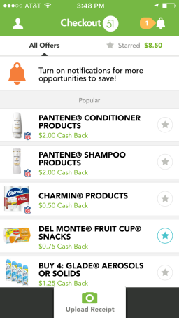 Couponing Apps: Checkout 51