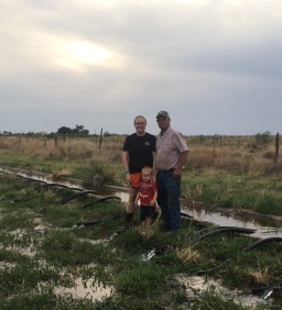 Irrigating on the Family Farm