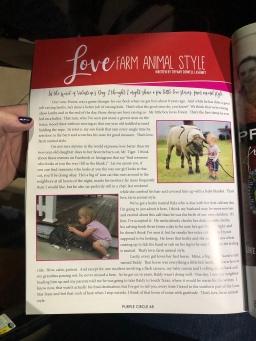 Love, Farm Animal Style